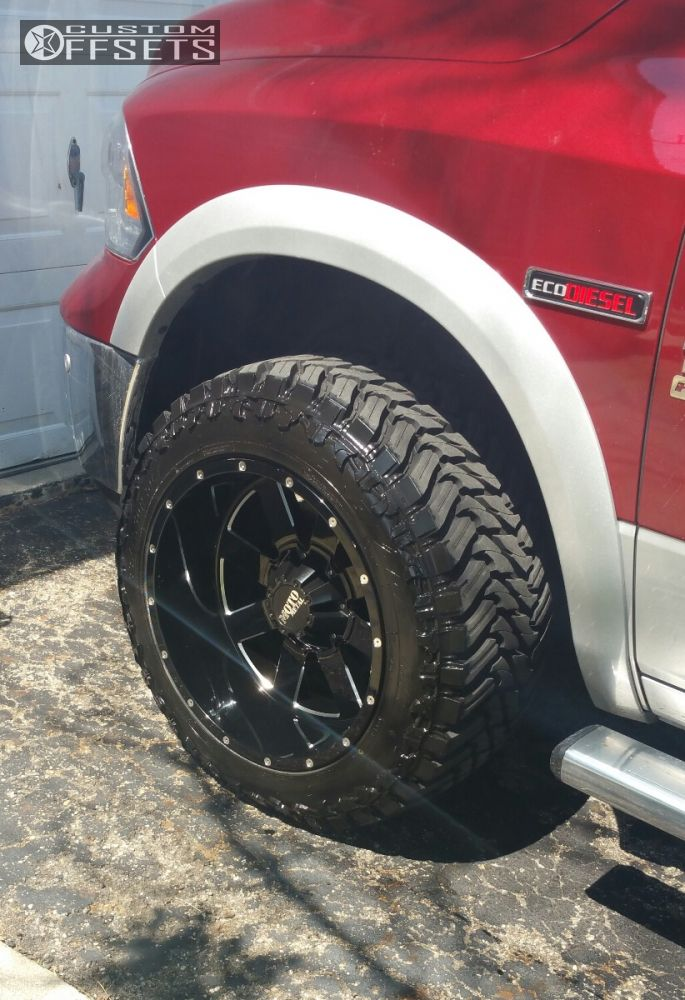 Wheel Offset 2015 Ram 1500 Super Aggressive 3 5 Leveling Kit