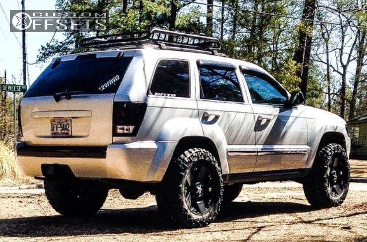Lift Kit Jeep Grand Cherokee ... Jeep Grand Cherokee Aggressive 1 Outside Fender Leveling Kit Custom