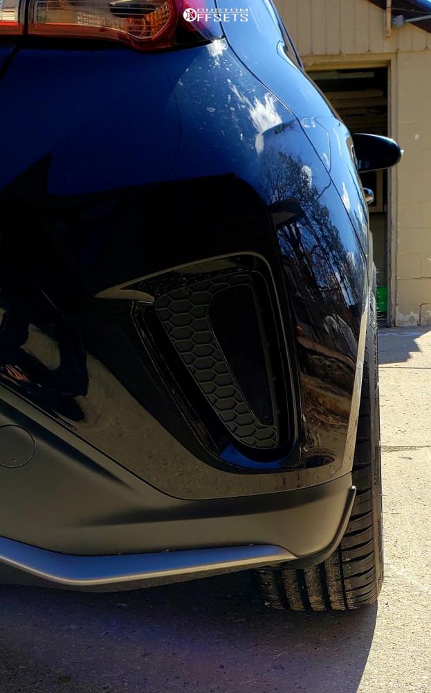 2019 Hyundai Veloster F1r F27 Stock Stock   Custom Offsets