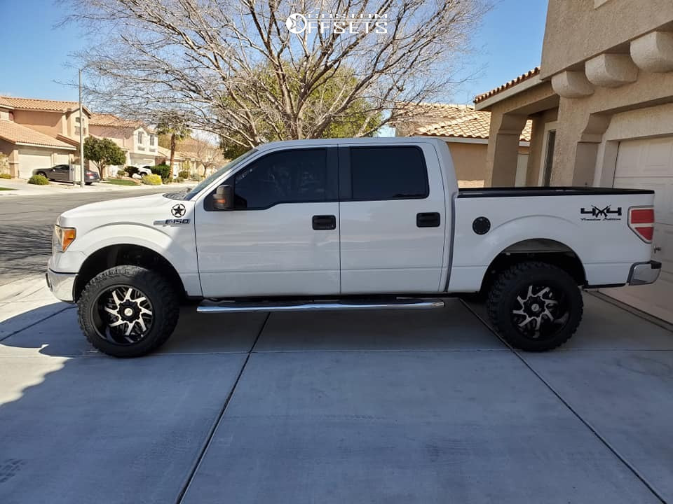 """2011 Ford F-150 Super Aggressive 3""""-5"""" on 20x12 -51 offset Toxic Lethal and 33""""x12.5"""" Federal Couragia Mt on Suspension Lift 3"""" - Custom Offsets Gallery"""