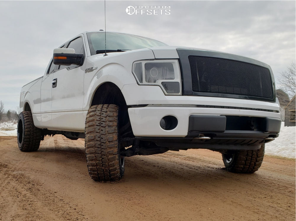 2 2014 F 150 Ford Rough Country Leveling Kit Dwg Offroad Dw13 Machined Accents