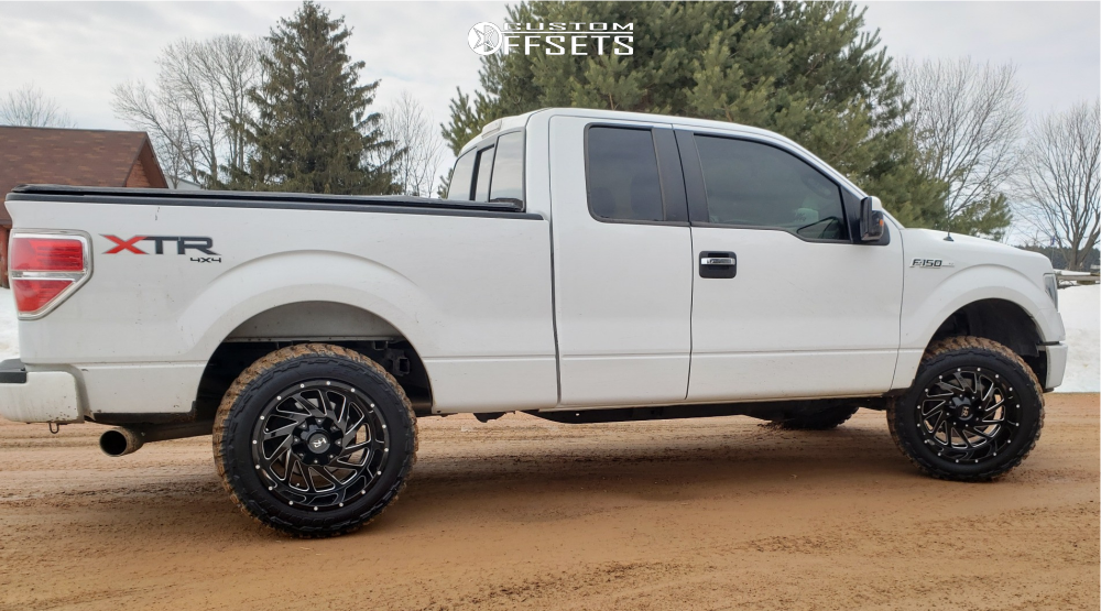 3 2014 F 150 Ford Rough Country Leveling Kit Dwg Offroad Dw13 Machined Accents