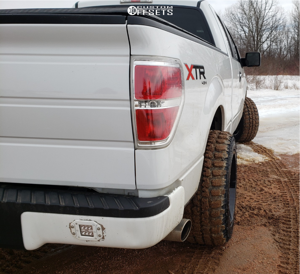 4 2014 F 150 Ford Rough Country Leveling Kit Dwg Offroad Dw13 Machined Accents