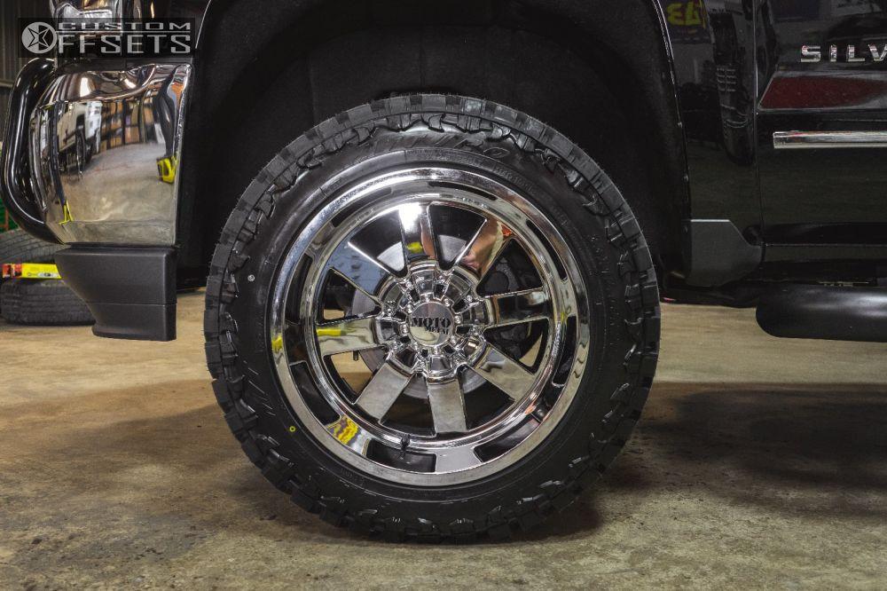 2016 chevrolet silverado 1500 moto metal 962 fabtech suspension lift 4in offsets garage. Black Bedroom Furniture Sets. Home Design Ideas