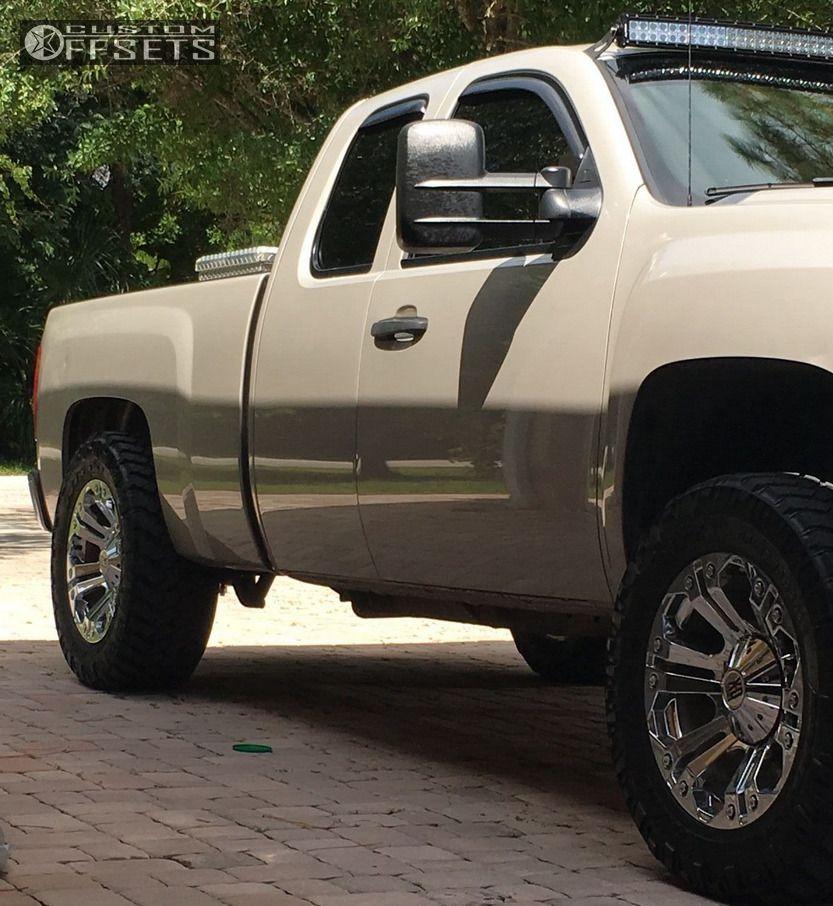 2007 Chevrolet Silverado 1500 Xd Xd778 Rough Country