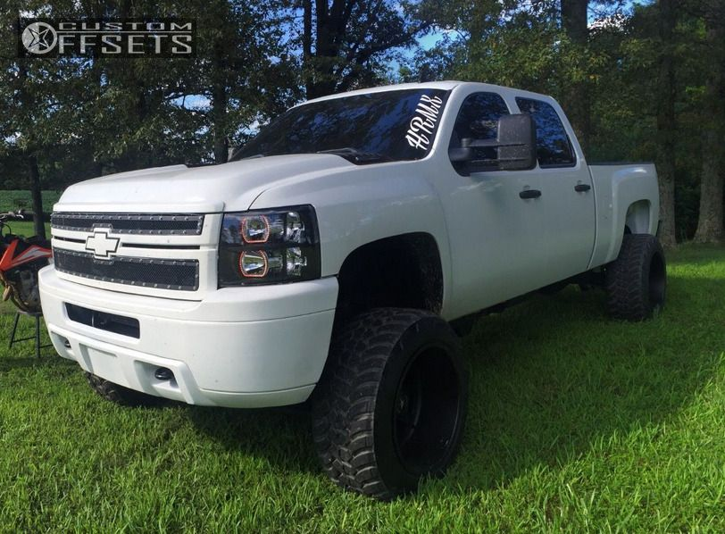 1 2014 Silverado 2500 Hd Chevrolet Suspension Lift 6 American Force Independence Ss8 Black Hella Stance 5