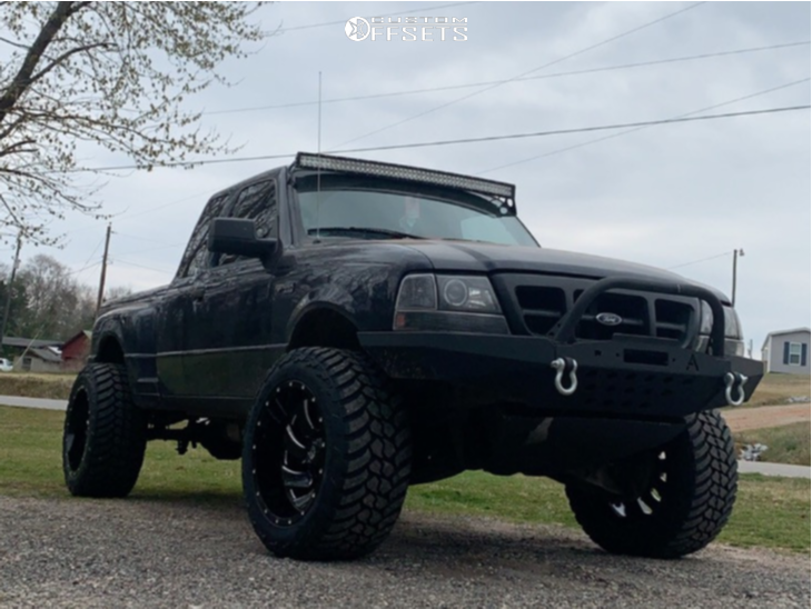 2000 Ford Ranger Fuel Cleaver Wulf Suspensions Suspension Lift 3in