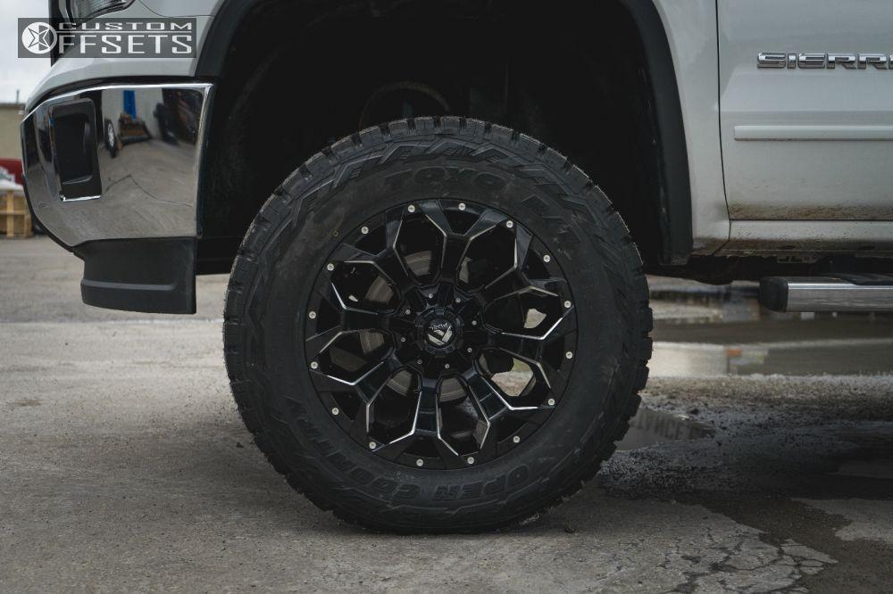 Wheel Offset 2014 Gmc Sierra 1500 Aggressive 1 Outside
