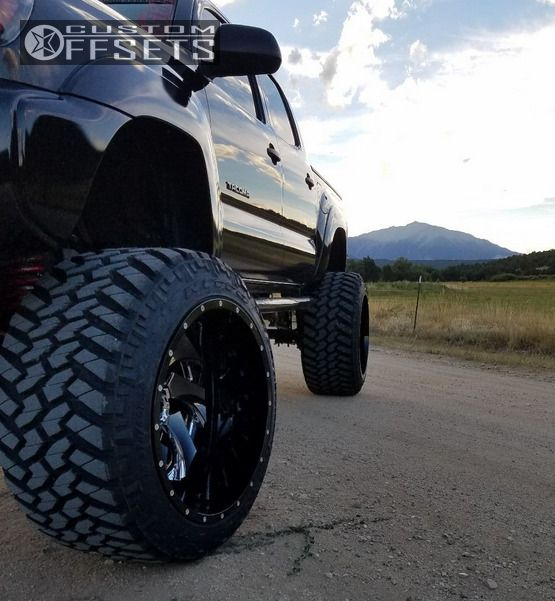 Cleaver 2001: Wheel Offset 2013 Toyota Tacoma Hella Stance 5 Lifted 9