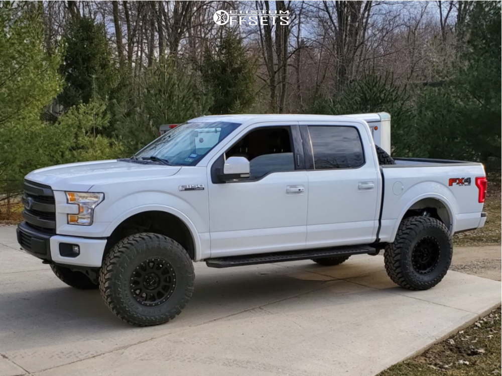 1 2015 F 150 Ford Fabtech Suspension Lift 6in Method Nv Black