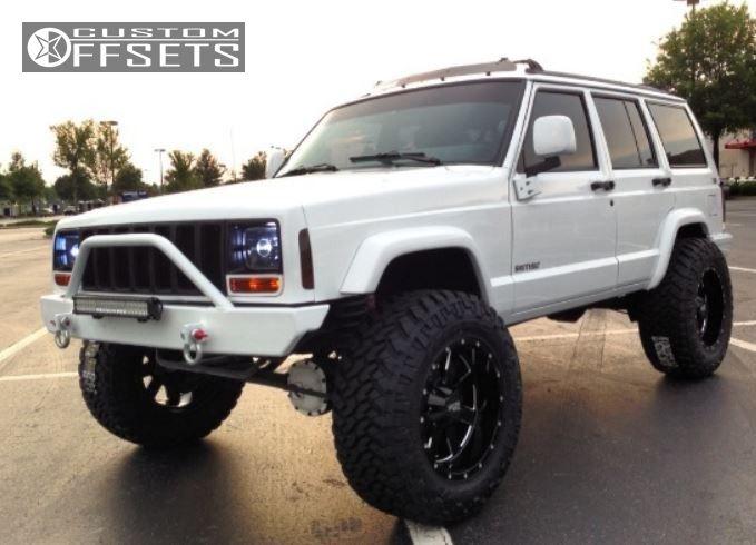2 1997 Cherokee Jeep Suspension Lift 4 Moto Metal Mo962 Black Super Aggressive 3