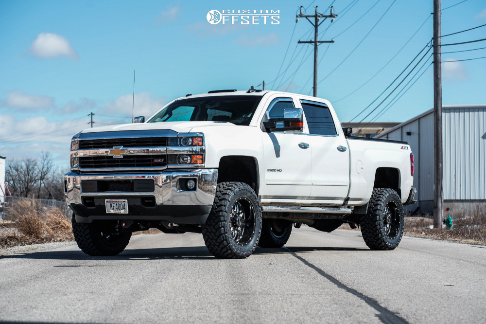 1 2016 Silverado 2500 Hd Chevrolet Bds Suspension Lift 45in Sota Rehab Black