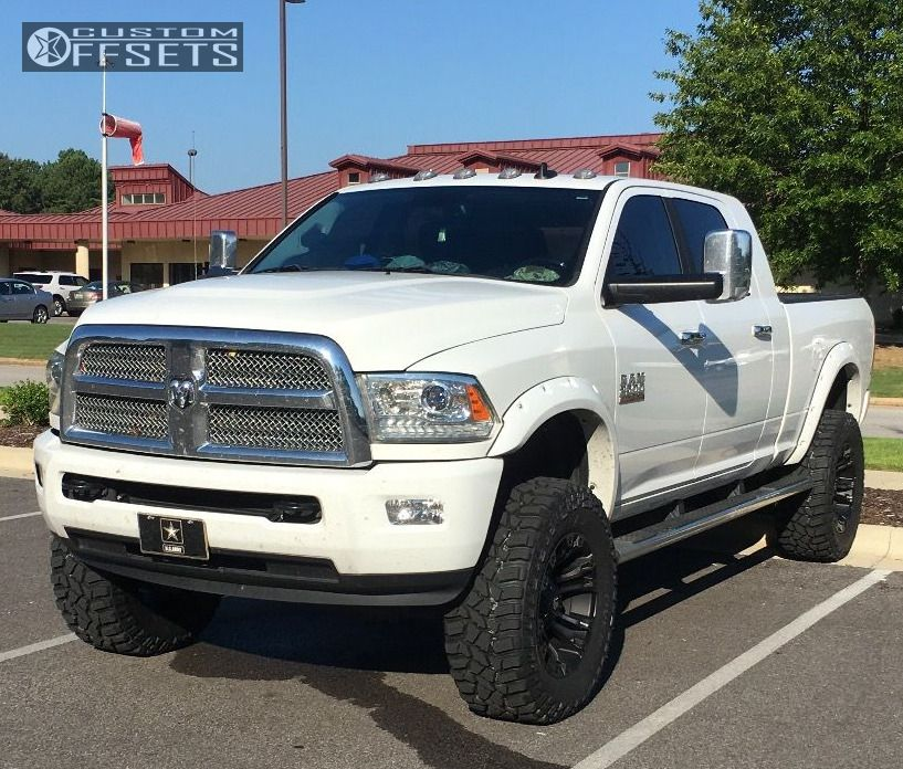 Rough Country 4wd Dodge Ram 2500 3500 Mega Cab 5 Lift: 2015 Ram 2500 Fuel Vapor Rough Country Suspension Lift 5in
