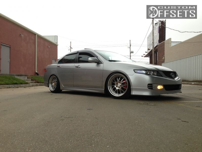 Wheel Offset Acura Tsx Flush Dropped Custom Rims - Rims for acura tsx