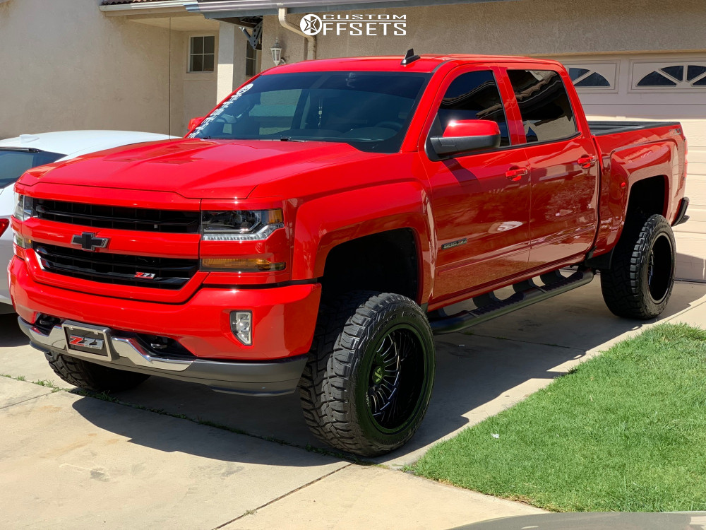 1 2018 Silverado 1500 Chevrolet Zone Suspension Lift 65in Arkon Off Road Alexander Black