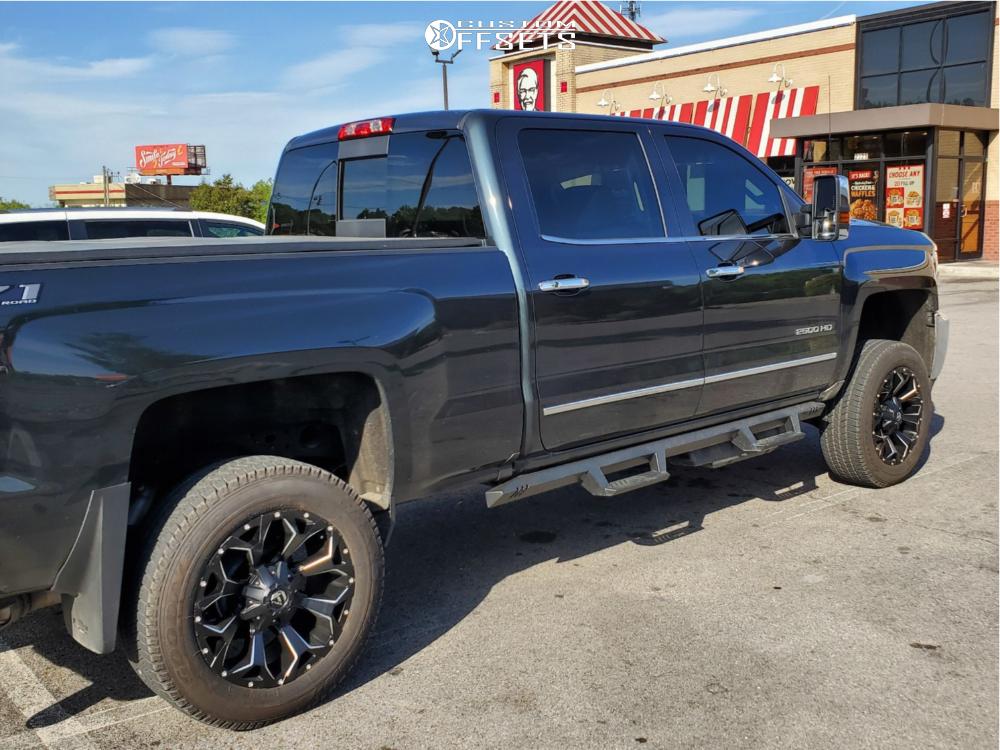 2019 Chevrolet Silverado 2500 Hd Fuel Assault Fabtech