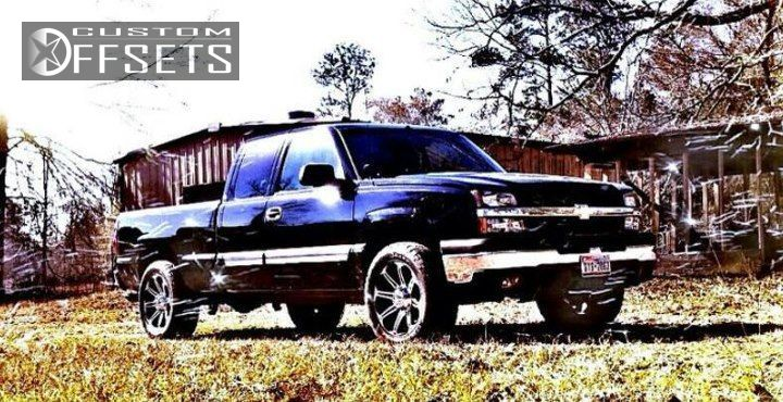 6 2005 Silverado 1500 Chevrolet Suspension Lift 3 Eagle Alloy 050 Machined Accents Slightly Aggressive