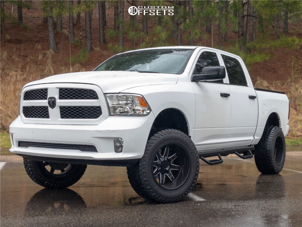 1 2015 1500 Ram Rough Country Suspension Lift 6in Toxic Widow Machined Accents
