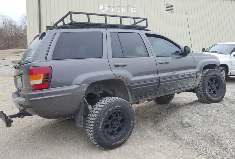 2003 jeep grand cherokee vision raptor iron rock offroad suspension lift 4 custom offsets 2003 jeep grand cherokee vision raptor