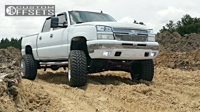1 2006 Silverado 1500 Chevrolet Suspension Lift 6 Fuel Octane Chrome Super Aggressive 3