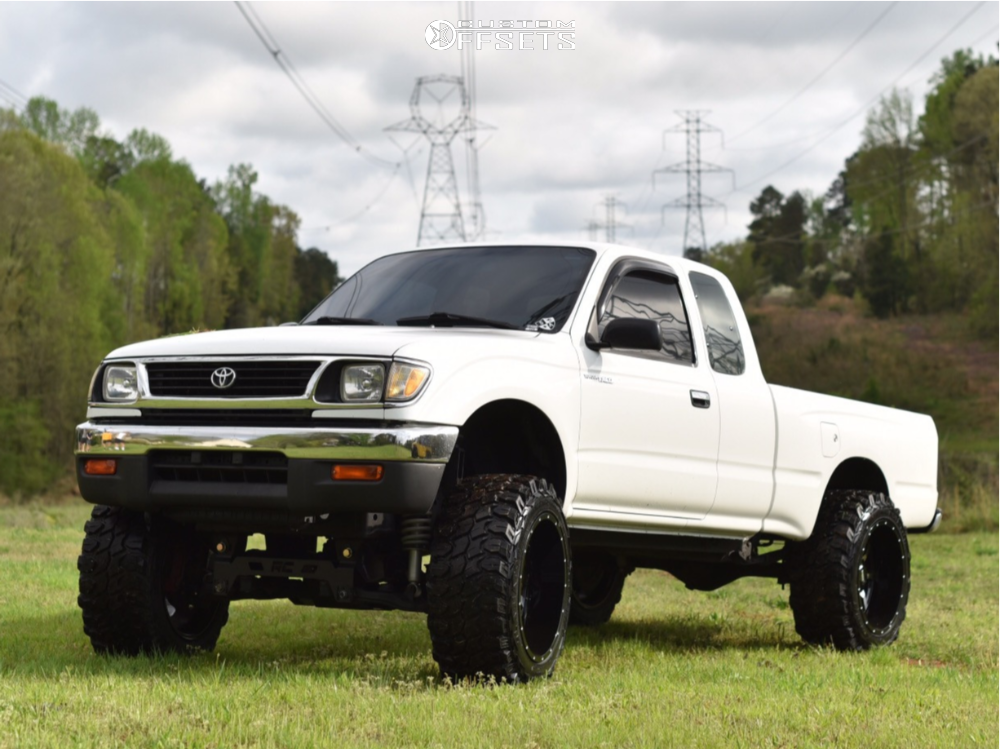 1 1996 Tacoma Toyota Rough Country Suspension Lift 6in Moto Metal Mo970 Machined Accents