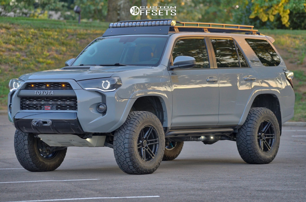 1 2018 4runner Toyota King Off Road Suspension Lift 3in Venomrex Vr602 Black