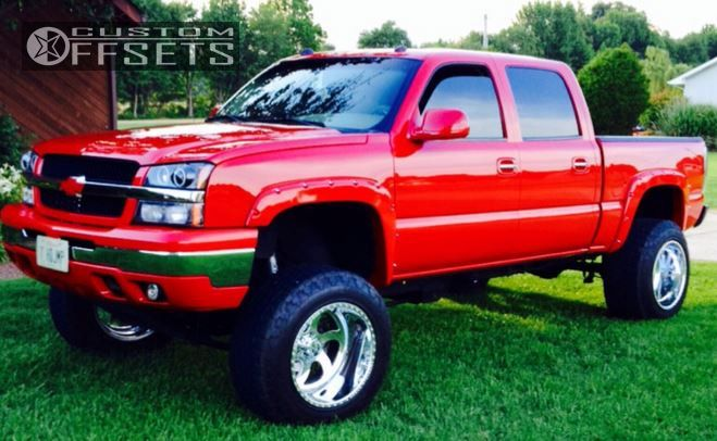 1 2004 Silverado 1500 Chevrolet Suspension Lift 9 American Force Blade Ss Polished Super Aggressive 3