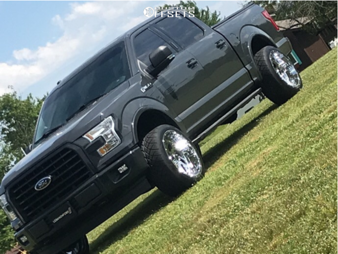 1 2017 F 150 Ford Supreme Leveling Kit Xtreme Force Xf 8 Chrome