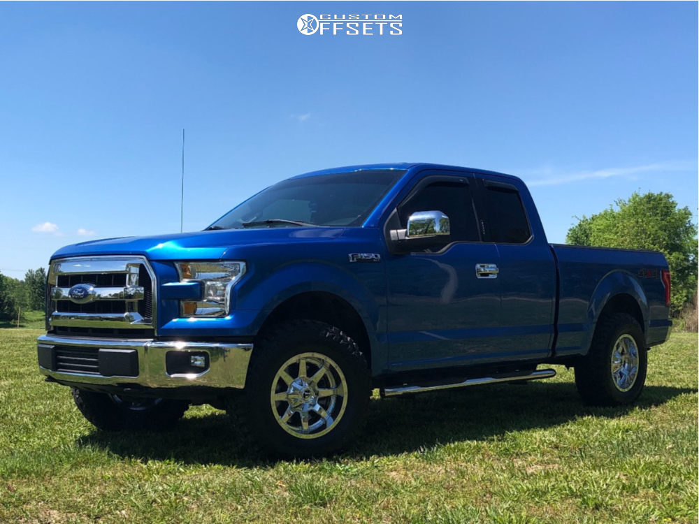 1 2016 F 150 Ford Rugged Offroad Suspension Lift 25in Fuel Maverick Chrome