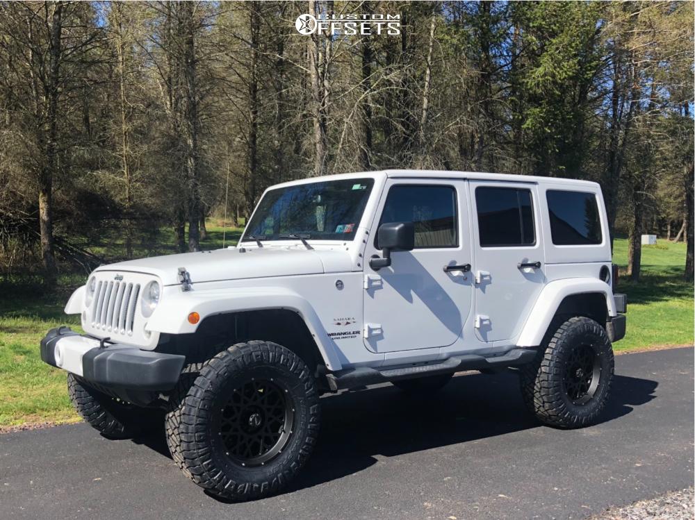 2016 Jeep Wrangler JK | Vision Rocker