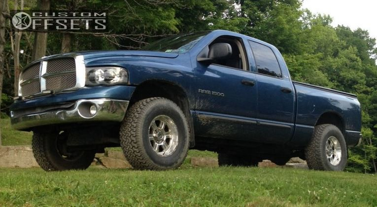 1 2002 Ram 1500 Dodge Suspension Lift 3 Procomp Extreme Polished Aggressive 1 Outside Fender