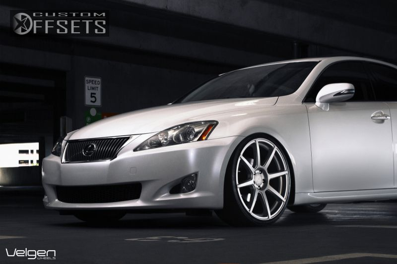 wheel offset 2010 lexus is 250 flush dropped 1 3 custom rims. Black Bedroom Furniture Sets. Home Design Ideas