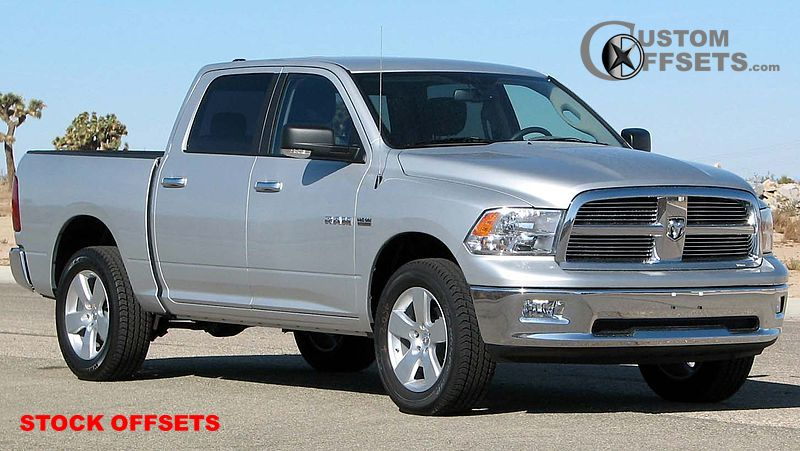 Wheel Offset 40 40 Dodge Ram Pickup 40 Tucked Stock Oem Enchanting 2014 Ram 1500 Bolt Pattern