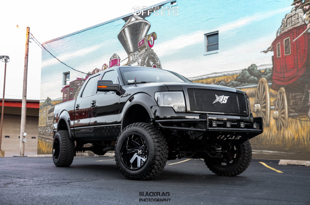 Custom Wheel Offset >> 2012 Ford F 150 Arkon Off Road Lincoln Rough Country ...