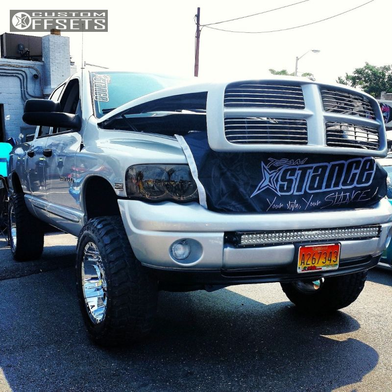 Wheel offset 2004 dodge ram 1500 super aggressive 3 suspension 1 2004 ram 1500 dodge suspension lift 6 moto metal mo951 chrome super aggressive 3 aloadofball Gallery