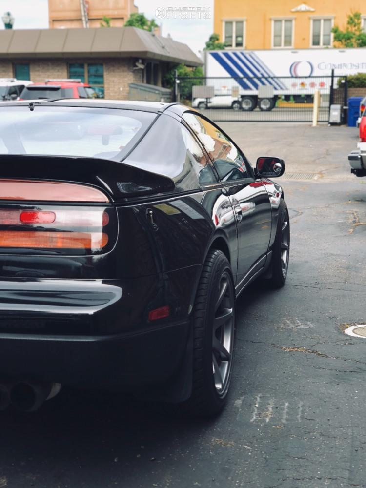 1991 Nissan 300zx Mb Wheels Battle Stock Stock Custom Offsets