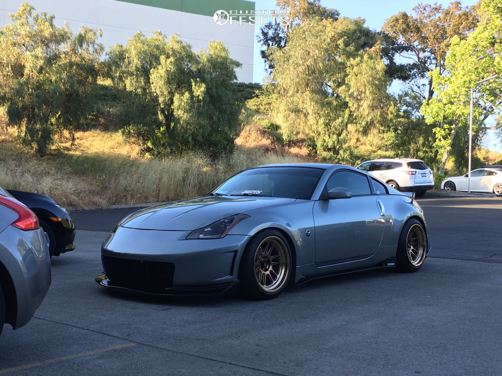 2005 Nissan 350z Cosmis Racing Xt 206r Bc Racing Coilovers
