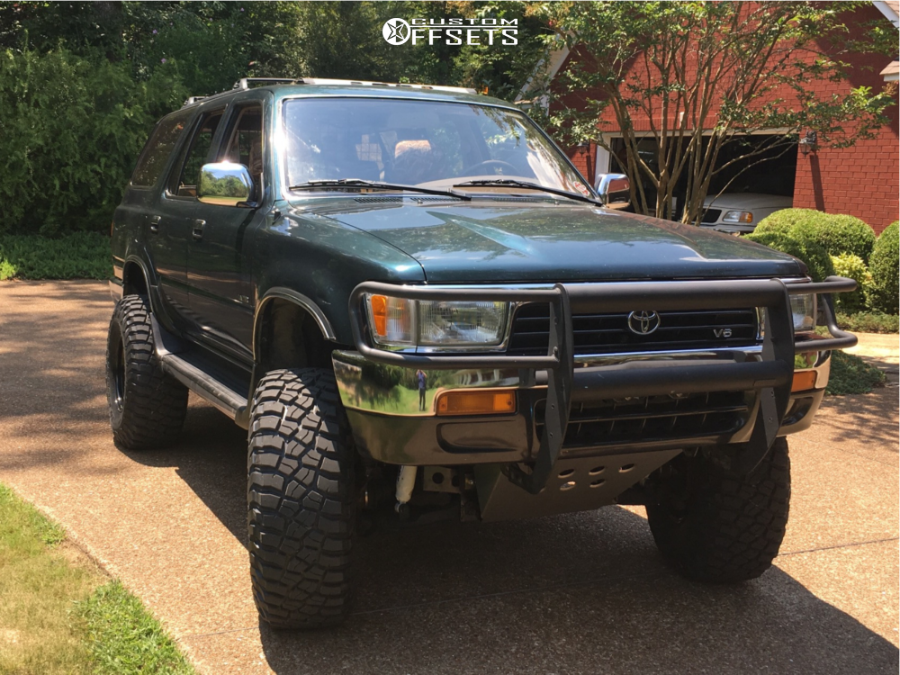 1995 toyota 4runner cragar soft 8 pro comp suspension lift 4 5 custom offsets 1995 toyota 4runner cragar soft 8 pro