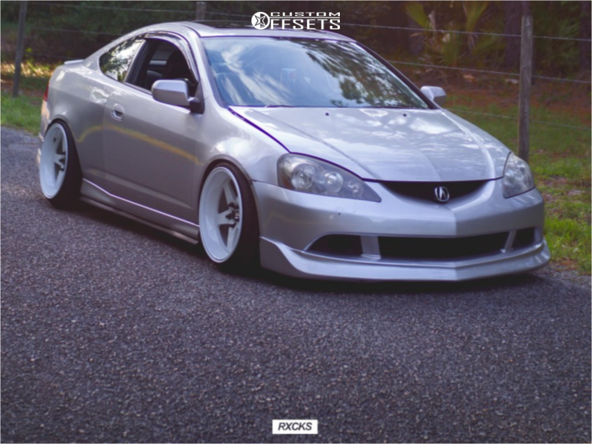 2006 Acura Rsx Cosmis Racing Xt 005r Truhart Coilovers | Custom Offsets