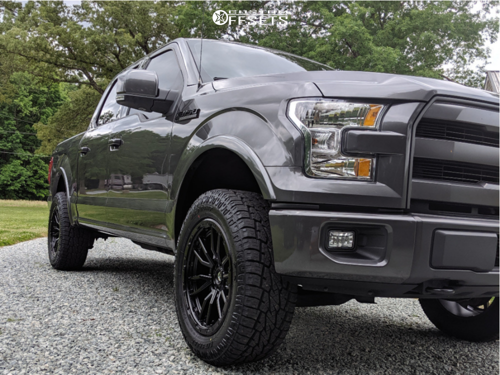 Fuel Wheels 20x9 >> 2015 Ford F 150 Fuel Rebel Rough Country Leveling Kit Custom Offsets
