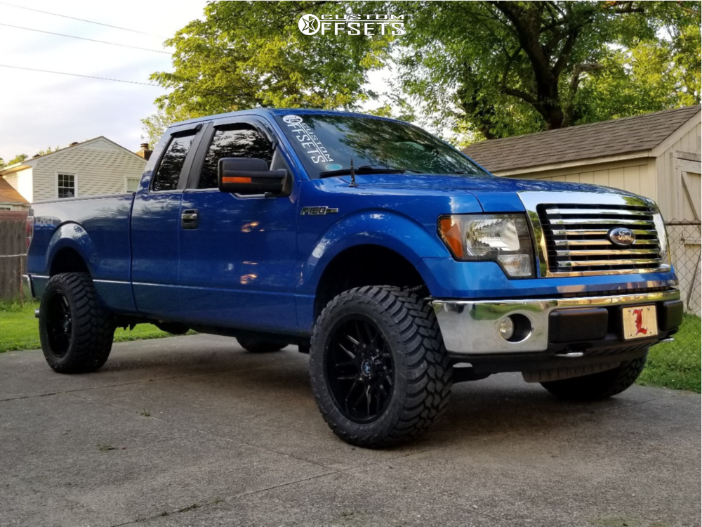 1 2010 F 150 Ford Fox Leveling Kit Motiv Offroad Magnus Black