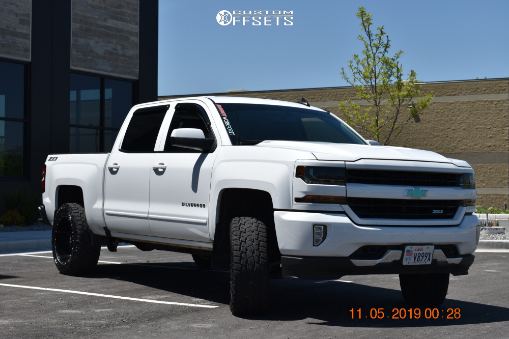 2017 Chevrolet Silverado 1500 Ultra Predator Mcgaughys Suspension