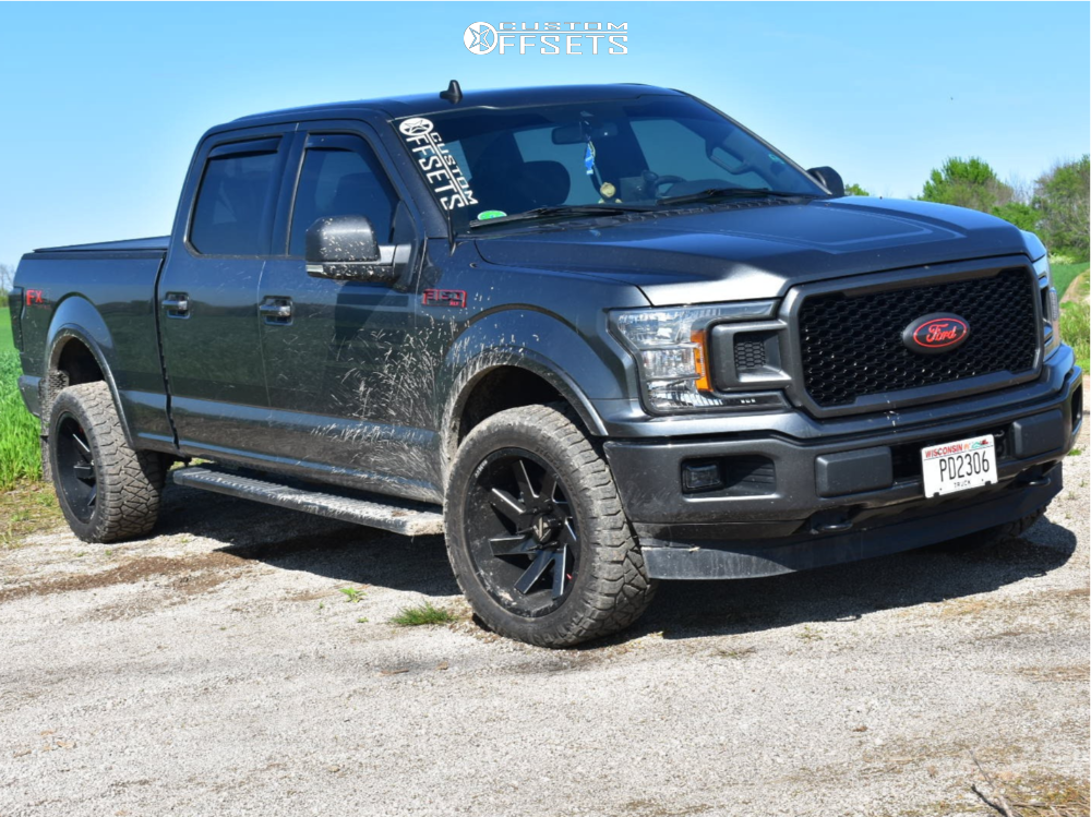 1 2019 F 150 Ford Stock Stock Arkon Off Road Lincoln Machined Black