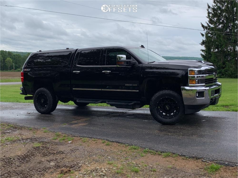 1 2017 Silverado 2500 Hd Chevrolet Stock Stock Vision Rocker Black