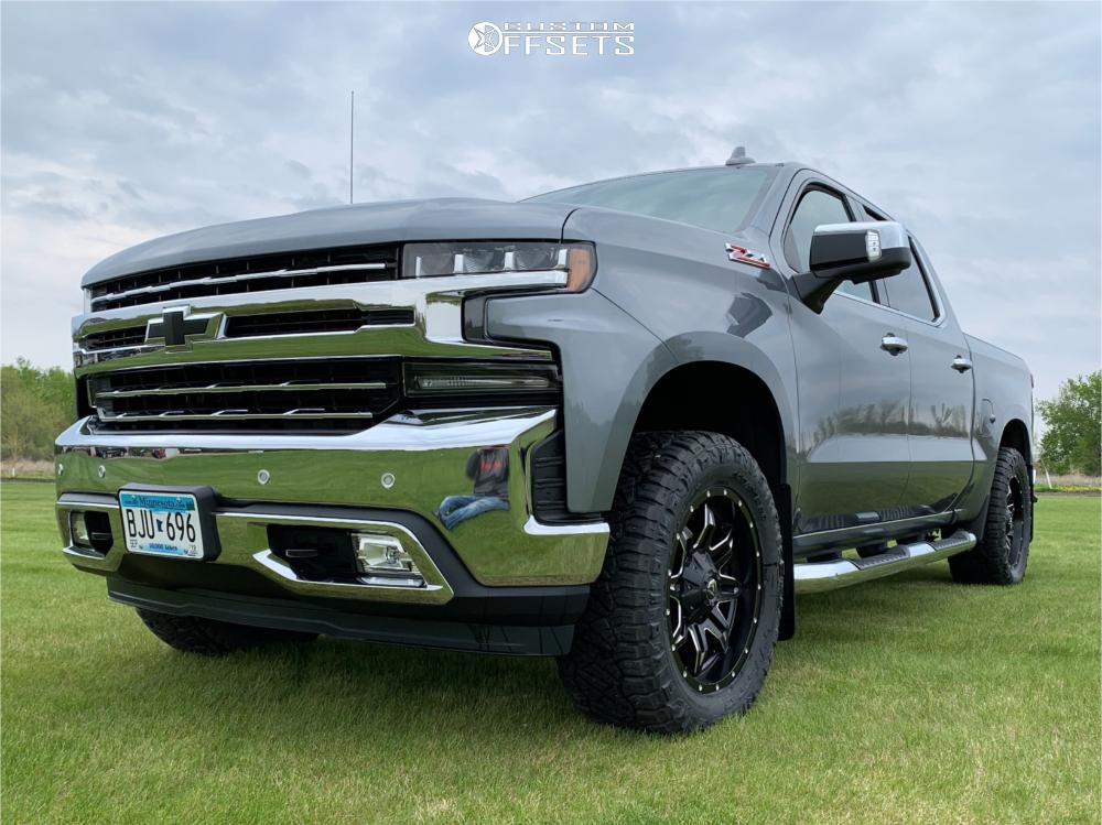 Aftermarket Rims For Chevy Silverado 1500 >> 2019 Chevrolet Silverado 1500 Fuel Lethal Rough Country ...