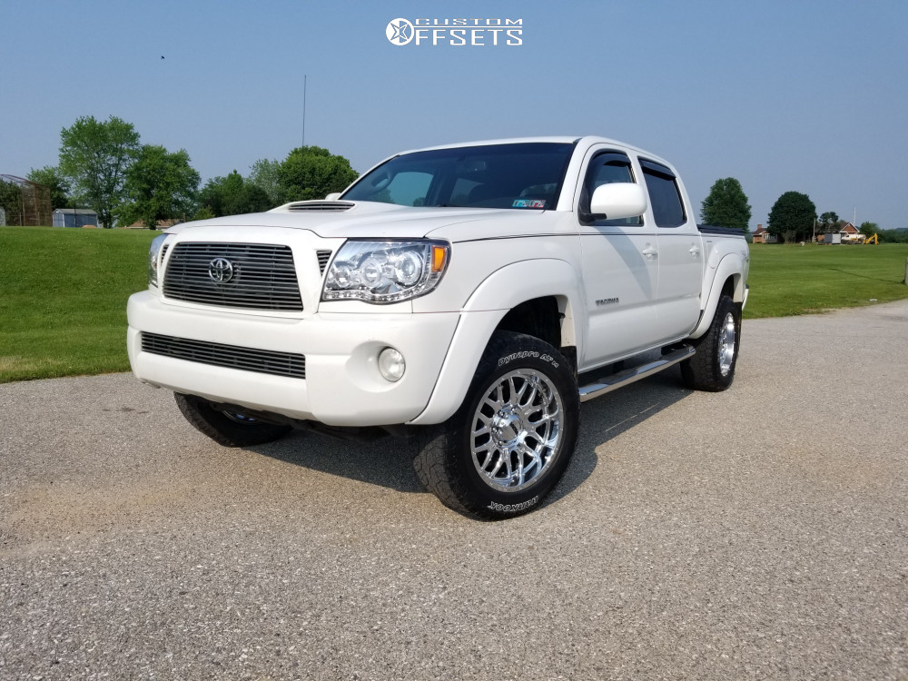 1 2009 Tacoma Toyota Bilstein Stock Ultra Hunter Chrome