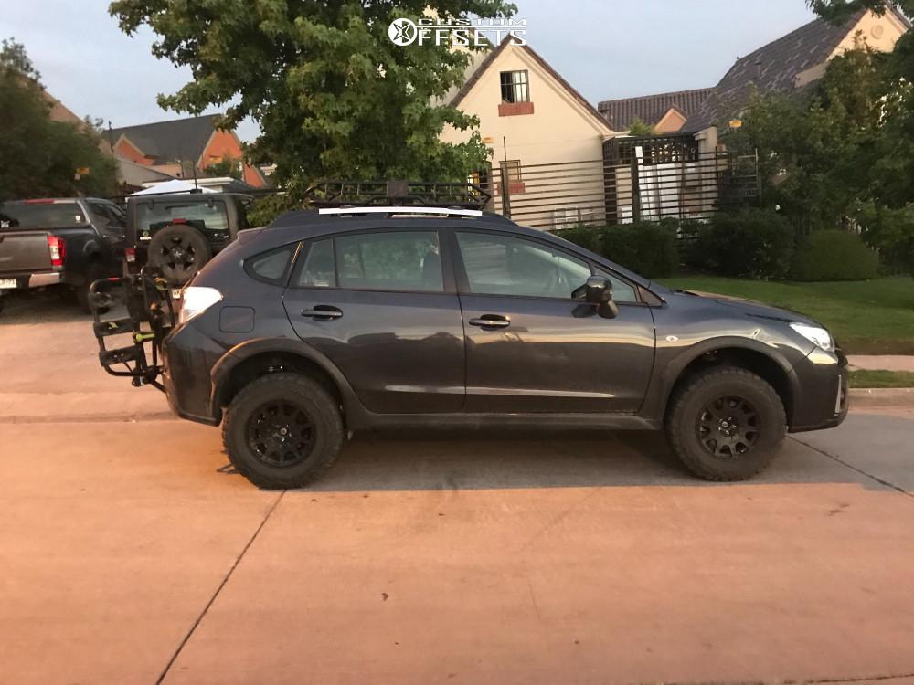 2017 Subaru Xv Crosstrek Method Mr502 Stock | Custom Offsets