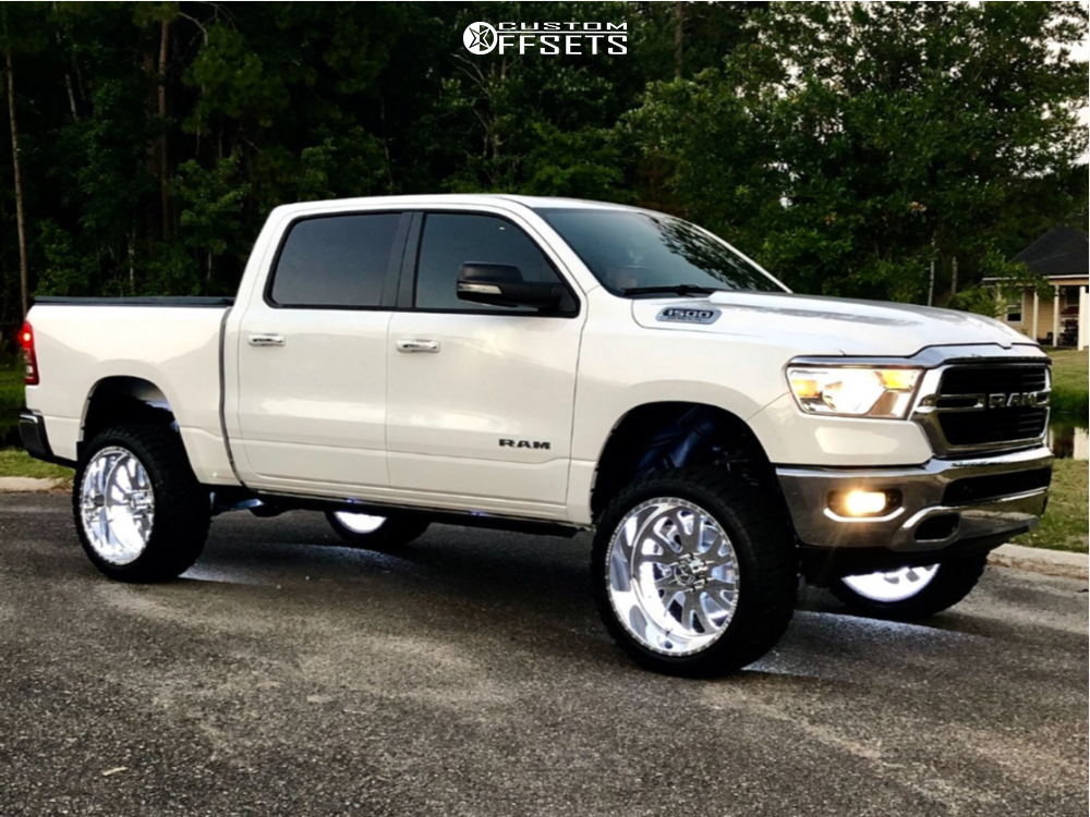 1 2019 1500 Ram Rough Country Suspension Lift 6in American Force Octane Ss Polished