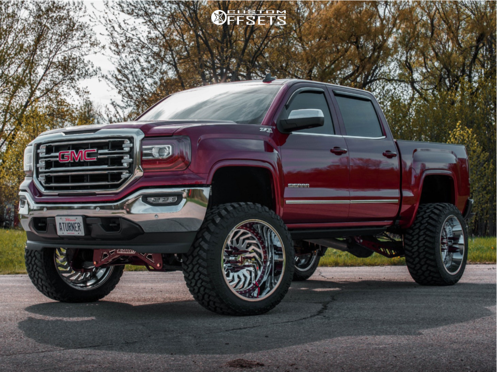 1 2018 Sierra 1500 Gmc Mcgaughys Suspension Lift 9in Arkon Off Road Crown Series Victory Chrome