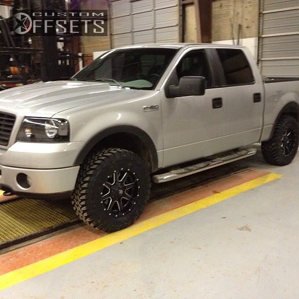 1 2008 F 150 Ford Leveling Kit Fuel Offroad Maverick Black Gunmetal Aggressive 1 Outside Fender